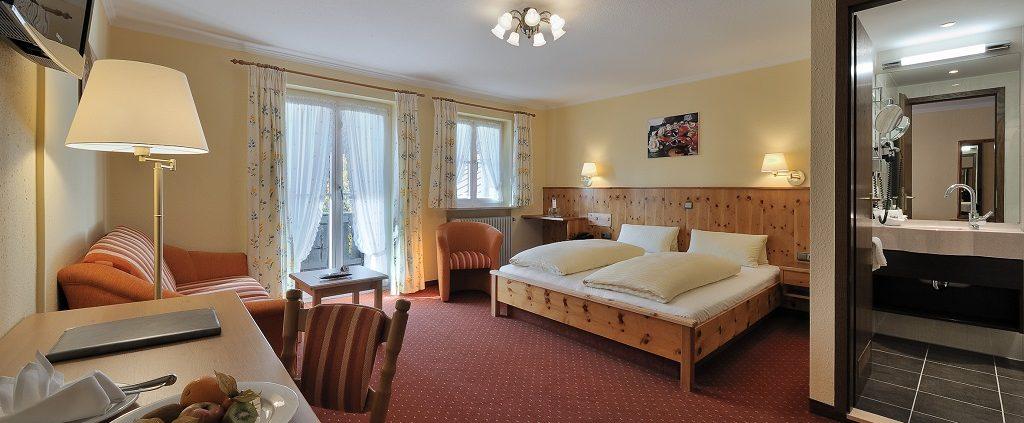 Komfortdoppelzimmer Süd Hammerwirt Siegsdorf 2